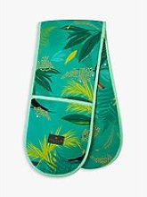 Sara Miller Toucan Double Oven Glove, Green