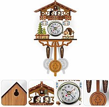 Sarari Car Swing Bell Pendulum, Antique 3D Cartoon