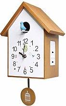 sararui Wall Clock Modern Cuckoo Clock Pendulum