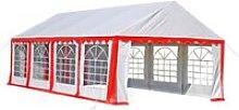 Sariah 8m x 4m Steel Party Tent by Red - Dakota