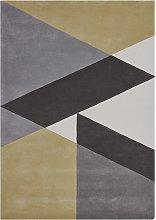 Sark Coupee Taupe Rug - 170 x 240 cm / Grey / Wool