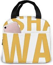 Sashay Away 59 Portable Lunch Tote Bag Lunch Bag