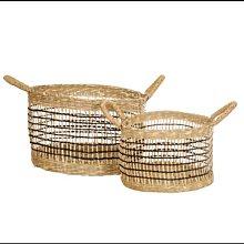 Sass & Bell - Basket Seagrass Storage Baskets Set