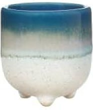 Sass & Belle - Blue Glazed Egg Cup