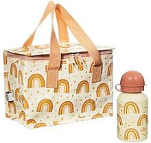Sass & Belle Earth Rainbow Tote &Amp; Water Bottle