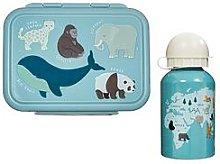 Sass & Belle Endangered Animals Lunch Box & Water