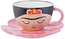 Sass & Belle Frida Cup And Flower Saucer Set
