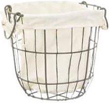 Sass & Belle - Round Wire Storage Basket Small