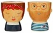 Sass & Belle - Set of 2 Libby and Ross Egg Cups -