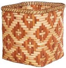 Sass & Belle - Terracotta Bamboo Basket