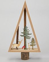 Sass & Belle Woodland Tree Standing Christmas