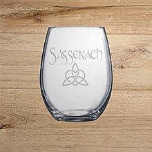 Sassenach Engraved Whiskey Wine Glass Shot