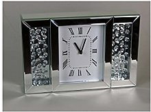 Sassy Home Mirrored Floating Crystal Diamante