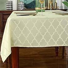 SASTYBALE Jacquard Rectangle Tablecloth-Spill