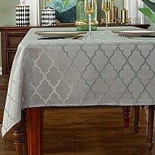 SASTYBALE Jacquard Tablecloth Flower Pattern
