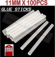 SATCO Deals - 100PCS, 11MM x 100mm HOT MELT Glue