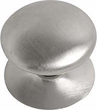 Satin Chrome Plated Victorian Cupboard Knob