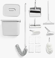 Satto Cleaning Set, Grey