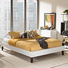 Saturn Upholstered Bed Frame Hashtag Home