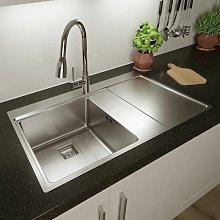Sauber - Säuber Kitchen Sink Single Bowl RH