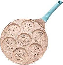 Saucepan Cute 7 Hole Non Stick Pot Omlette Egg