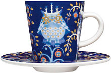 Saucer - For the Taika coffee cup by Iittala Blue