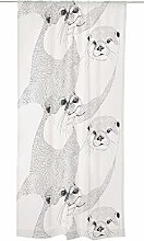 Saukko Curtain 140x250 cm black white