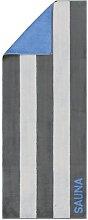 Sauna Beach Towel Cawö Colour: Anthracite/Gray