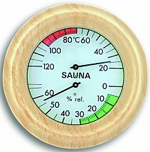 Sauna Thermometer and Hygrometer Symple Stuff