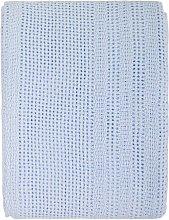Savana Baby Blanket Isabelline Colour: Lemon/Blue