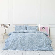 savastextile Double Bed Duvet Cover Set with 2