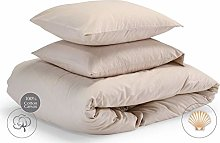 savastextile Small Double Bed Duvet Cover Set with