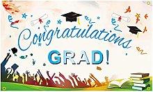 Savlot Graduation Party Banner Congratulations
