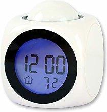 Savlot Projection Clocks LED Display Digital Alarm