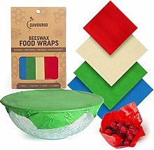 Savourio Beeswax Food Wrap | Reusable,