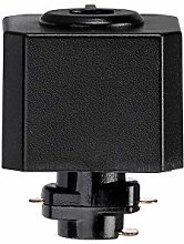 Saxby 71896 Black Track Pendant Adaptor