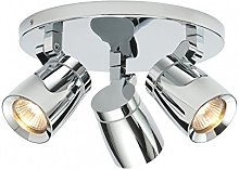 Saxby Lighting - Knight Triple IP44 35W Bathroom