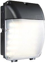 Saxby Lighting Lucca IP44 30W Matt black & opal pc