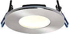 Saxby Lighting OrbitalPLUS IP65 9W Satin nickel