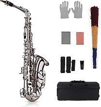 Saxophone Eb Alto Saxophone Kit Brass Gold Sax 802