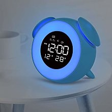 saxz Alarm Clock Mains Powered, Kids Alarm Clock