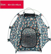 saxz Breathable Waterproof Pet Puppy Kennel Cat