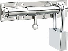 Sayayo Slide Gate Latch Bolt Safety Door Lock with