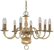 Sayers 8-Light Candle-Style Chandelier Ophelia &