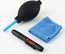 SaySure - 1set 3 in 1 Dust Pen Blower Cloth Kit