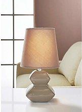 SB Contemporary Look Pagoda Pebble Table Lamp