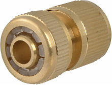 SB3007A Brass Female Water Stop Connector 12.5mm