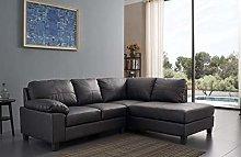 SC Furniture Ltd Black High Grade Genuine Leather