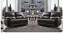 SC Furniture Ltd Black High Grade Leather Manual