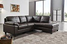 SC Furniture Ltd Brown High Grade Genuine Leather